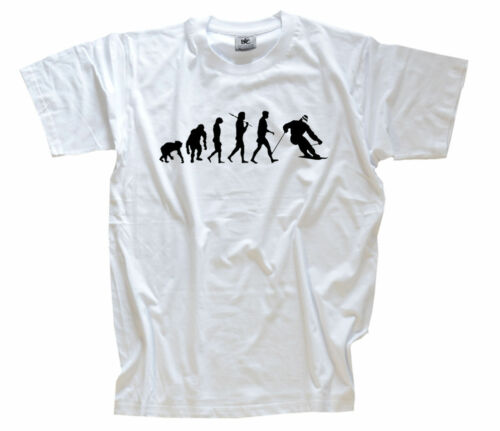 Standard Edition Ski downhill skifahren skilaufen Evo KINDER T-Shirt 104-164