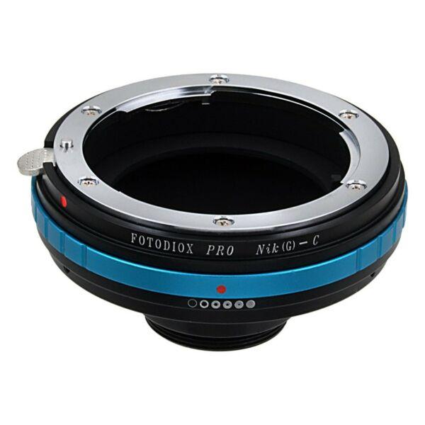 Bon CœUr Fotodiox Pro Lens Mount Adapter Pour Nikon G – D Type Lentille Pour C Mount Movie Cc... AgréAble à GoûTer