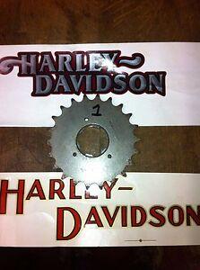 SHOVELHEAD-1980-85-22-TEETH-GEARBOX-4speed-TRANSMISSION-SPROCKET-HEAVY-DUTY-USA