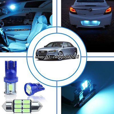 22Bulbs Xenon White LED Interior Light Kit Package For Audi B5 B6 B7 A4 S4 Avant