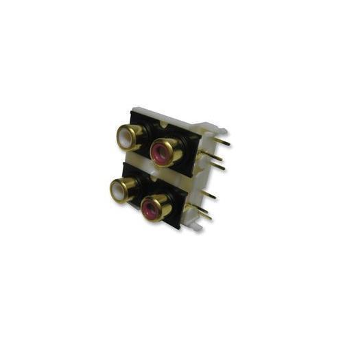 PCB Connecteurs Audio connecteurs vidéo-CZ88667 Gold Phono Socket