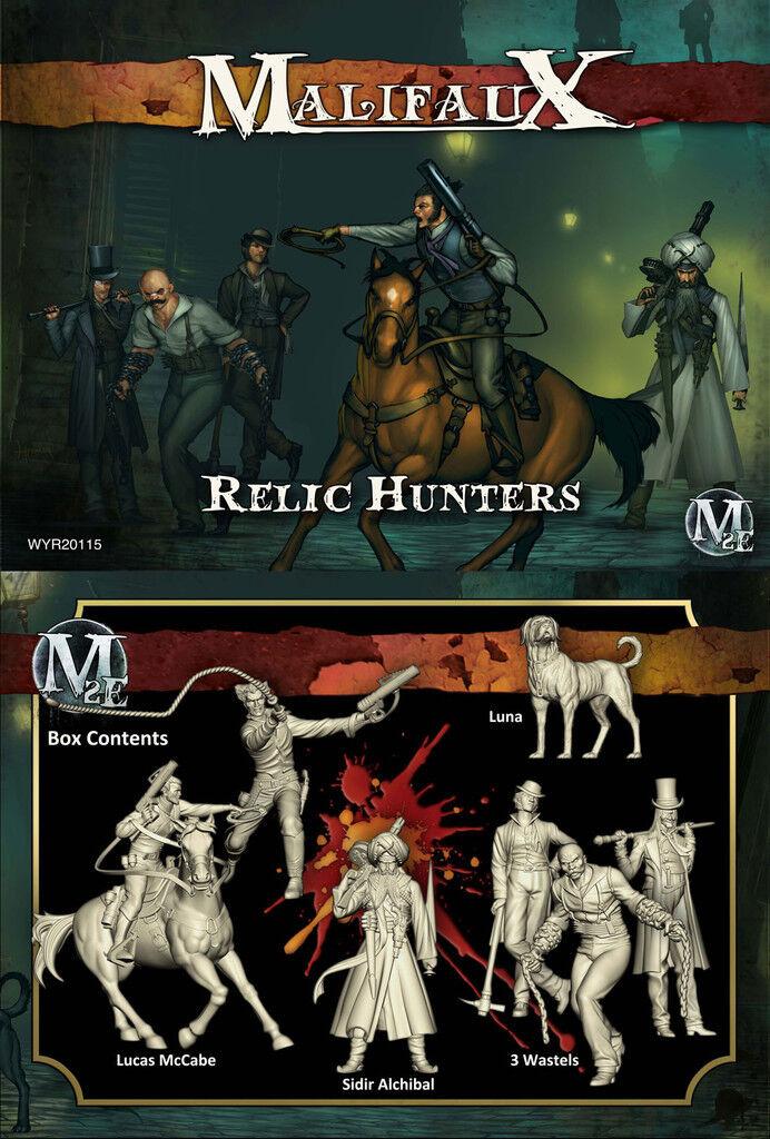 Malifaux Guild / Ten Thunders - Relic Hunters - Lucas Mccabe Box Set - WYR20115