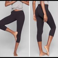 Athleta Women Chaturanga Tight Leggings 919052 Pilayo Black Size L