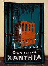 Email escudo-Xanthia Cigarettes-enamel sign geo dorival - 90cm x 60cm