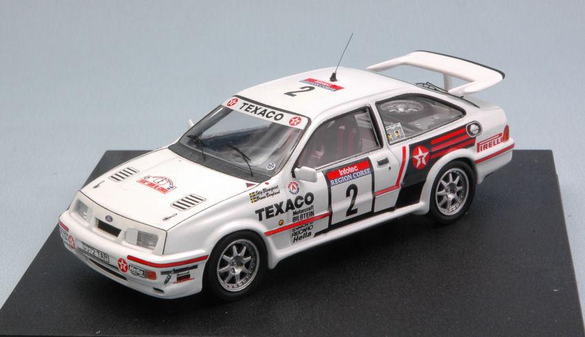 Ford  Sierra Cosworth  2 à la retraite Tour de Corse 1987 Blomqvist Berglund 1 43  articles de nouveauté