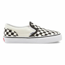 VANS KIDS Classic Slip-On (Checkerboard) Black/White  Size 11-4 Fast Shipping