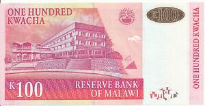 Malawi-100-KWACHA-1st-October-2001-UNC-Pick-46a