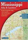 Delorme Atlas and Gazetteer: Mississippi Atlas and Gazetteer by Rand McNally Staff and DeLorme Map Staff (2004, Paperback)