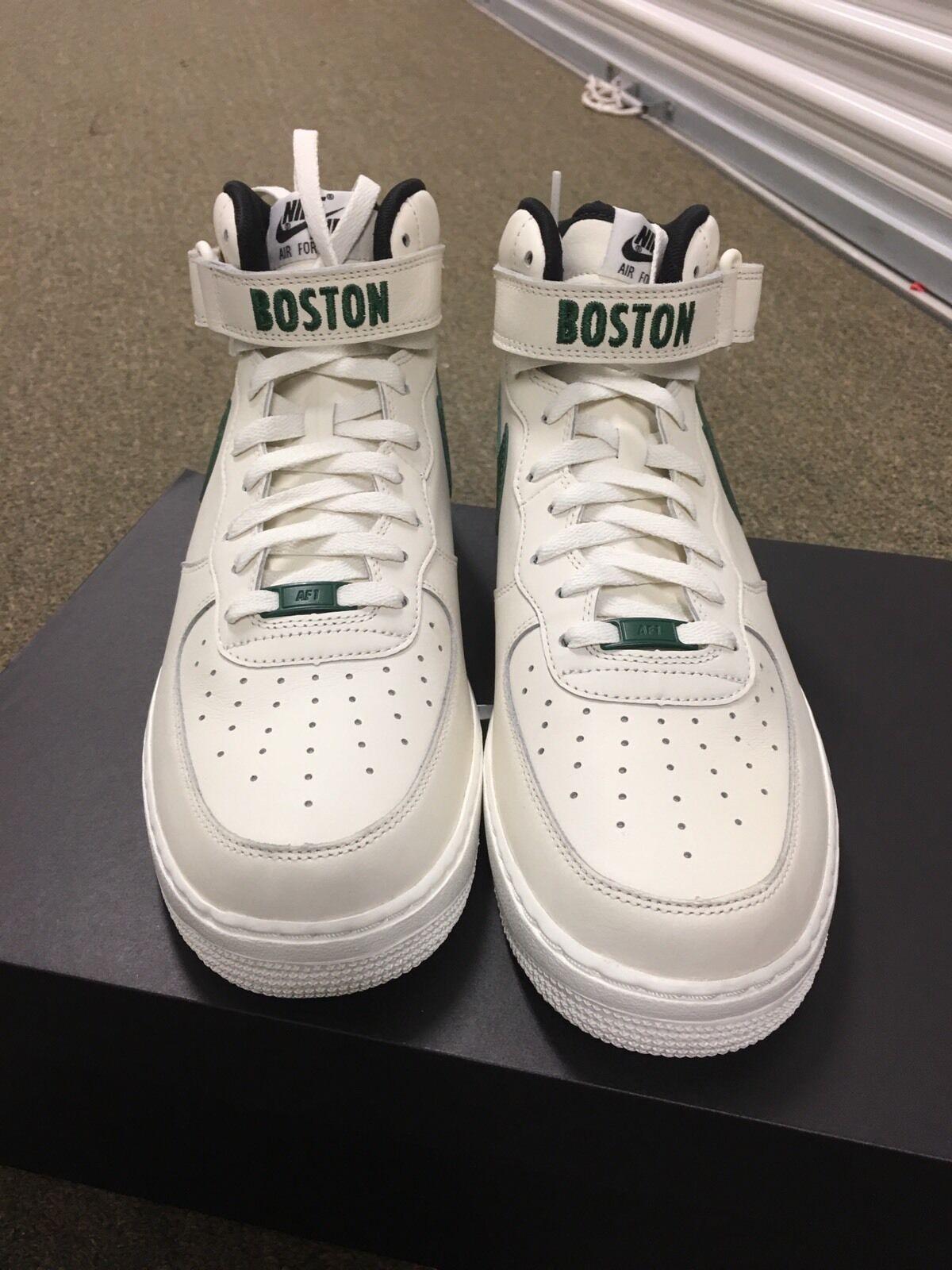 Nike de Air Force 1 mediados de Nike Boston Celtics SZ 11,5 1 de 5 id uno AF1 vela verde It4 PE nuevos zapatos para hombres y mujeres, el limitado tiempo de descuento 432ff7