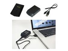 USB Ladegerät für PANASONIC NCA-YN101G, NCA-YN101H, NCA-YN101J, SDBCK7