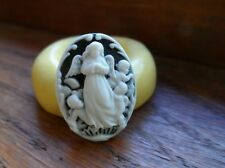 Angels SILICONE mold Cameo Cabochon polymer clay resin sugar craft