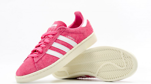 NEW MEN'S ADIDAS ORIGINALS CAMPUS SHOES SIZE US 11    BZ0069  PINK