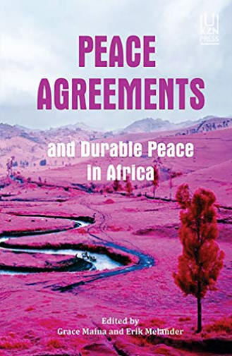 Grace Maina-Peace Agreements And Durable Peace In Africa (US IMPORT) BOOK NEW