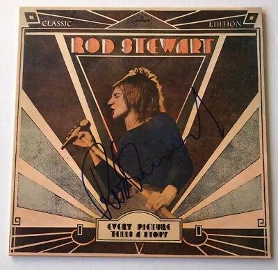 Reliable Rod Stewart Signed Every Picture Tells A Story Vinyl Record Jsa Coa #cc65104 Harmonious Colors Autographs-original