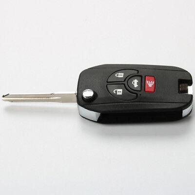 5Pcs 4 Buttons Remote Key Shell Case for NISSAN Maxima Altima Sentra Versa Fob