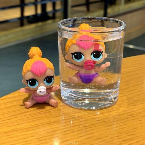 NEON Q.T SERIES 2 dolls toys MBJD With bag LOL Surprise LiL Sisters L.O.L