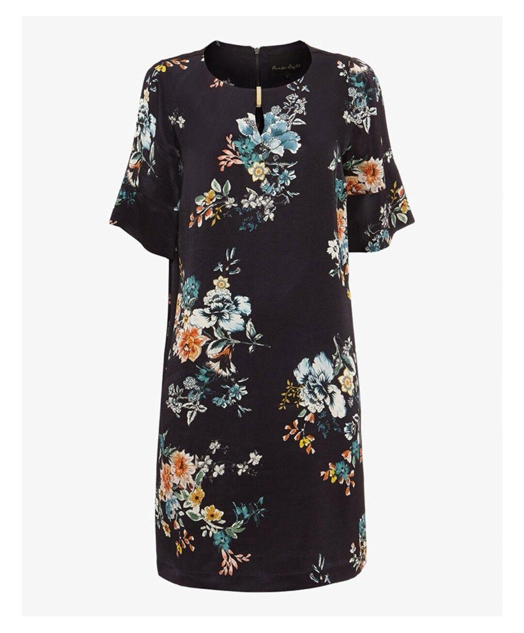 Phase Eight Zadie Floral Tunic Dress Größe 14