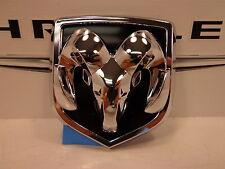 04-09 Dodge Durango Dakota New Grille Rams Head Medallion Nameplate Mopar Oem