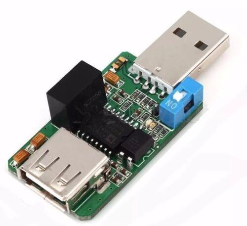 USB To USB Isolator 1500V Max ADUM4160 ADUM3160 Module Low High Speed Switch