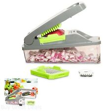 Vidalia Onion Chopper Makes Pro Vegetable and Fruit Salad Heavy Duty Food Chop