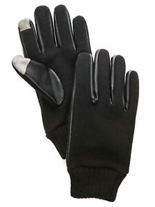 Saddlebred-Men-039-s-Full-Knit-Gloves-with-Touch-Technology-Black