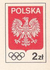 POLAND 1981 **MNH Postcards Cp#780 Wheels Olympics
