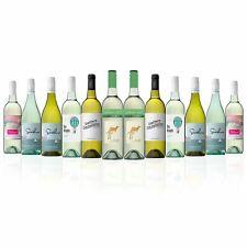 Mixed White Wine Dozen featuring Yellow Tail Cool Crisp White (12 Bottles)
