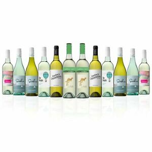 Mixed-White-Wine-Dozen-featuring-Yellow-Tail-Cool-Crisp-White-12-Bottles