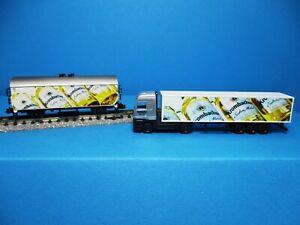 Trix-91059-DB-de-cerveza-carro-set-krombacher-extra-mild-1-coches-1-camiones-nuevo-embalaje-original