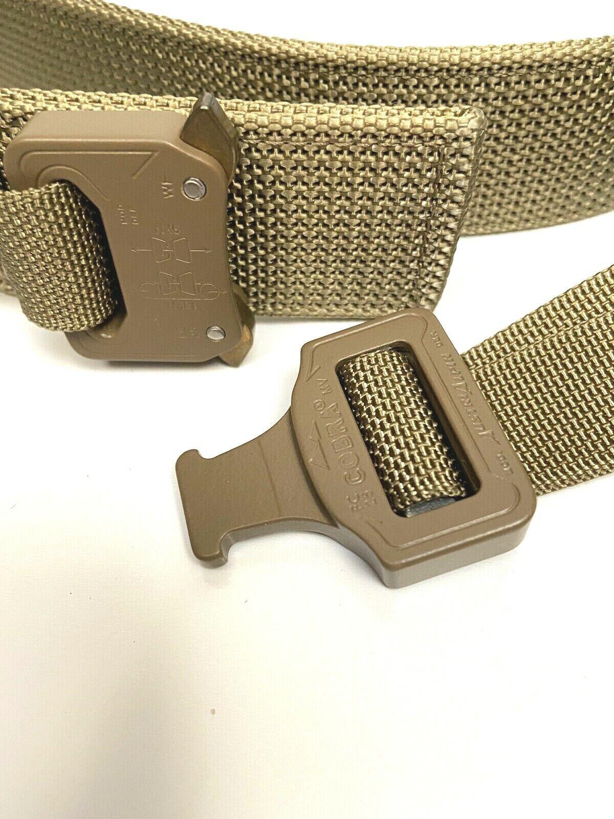 "NEW Ferro Concepts EDCB2 Everyday Carry Belt 1.5/"" Tactical EDC Cobra Buckle"