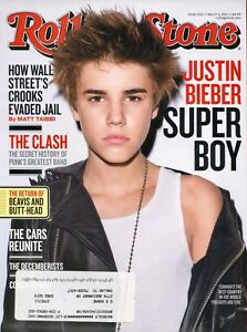 Justin Bieber Rolling Stone Magazine 3 3 11 A 4 2