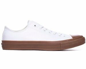 CONVERSE-CHUCK-TAYLOR-ALL-STAR-II-OX-TRAINERS-WHITE-GUM-UK-6-7-8-9-10-11-12