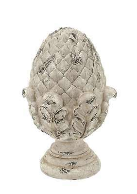 "Large 17"" FIBER GLASS OUTDOOR Pineapple/ARTICHOKE Finial/STATUE Architectural"