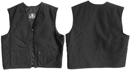 "Bad Company Leatherwear club Blouson ""Bad Co. tex"" noir textile Harleyrocker gilet afficher le titre d'origine"
