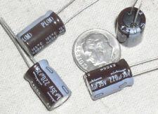 16mm x 25mm Lot of 11 Nichicon UVZ VZ electrolytic capacitor 2200 uF @ 35V