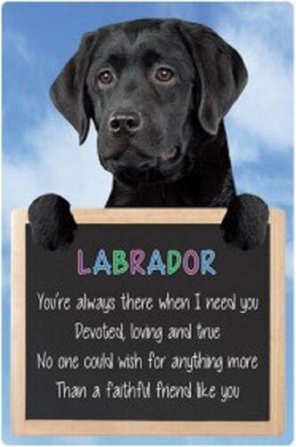 Black Labrador  3D home hang up sign great Christmas stocking filler