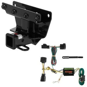 Curt Class 3 Trailer Hitch & Custom Wiring Harness for Jeep Commander | eBay