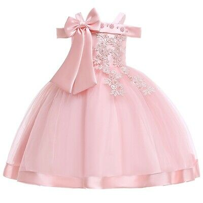 Vestidos De Fiesta Ropa De Niña Y Para Bodas Bautizos Niñas Elegantes Graduación Ebay