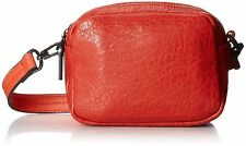 French Connection Contempo Faux Leather Mini Cross Body Bag Havana Red