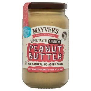 Mayver's Peanut Butter Crunchy 375 gram