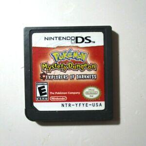 Pokemon Mystery Dungeon: Explorers of Darkness (Nintendo DS, 2008)
