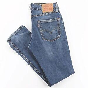 Vintage Levi's 511 bleu Denim Slim Straight Jeans Homme W31 L32