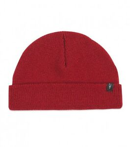 O'Neill Turk Dark Red Khaki Beanie Hat Cap