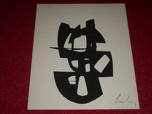 BERTO-LARDERA-SUITE-DE-5-SUPERBES-GRAVURES-SIGNEES-I-VI-ex-sur-ARCHES-1967