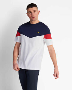 Lyle-and-Scott-Mens-Panel-T-Shirt