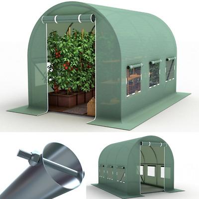 2x3m Gewächshausfolie klar Ersatzfolie Gewächshaus Foliengewächshaus grün PREMIU