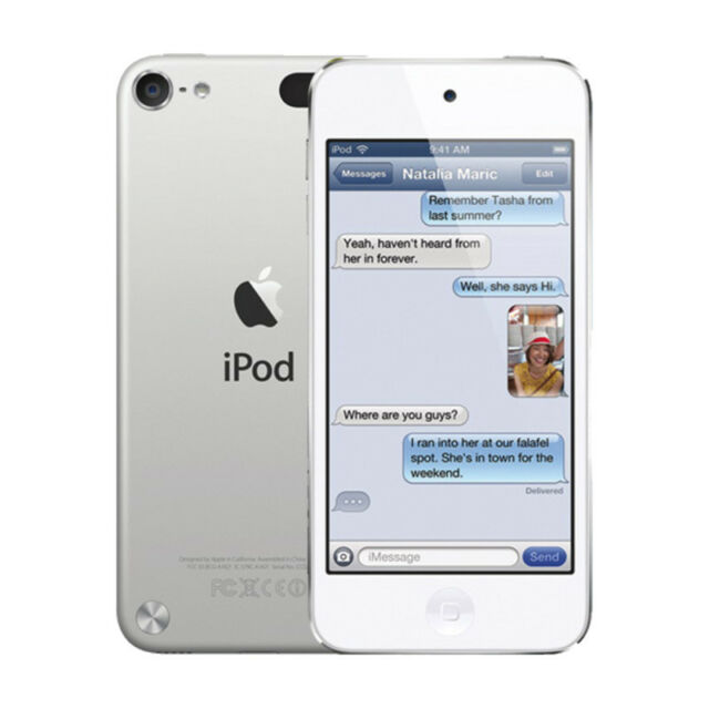 Apple iPod touch 5th Generation Silver 64GB