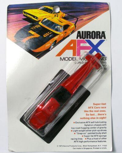 1973-76 Aurora AFX AZTEC DRAGSTER HO Slot Car CARDED Sealed 1792 SWEET UNUSED A+