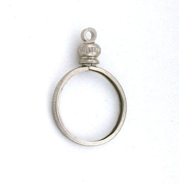 1 dime 10 ten cent silver color coin holder pendant mounting mount 1 dime 10 ten cent silver color coin holder pendant mounting mount finding cf383 aloadofball Images