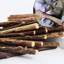 1 Bag 4PCS Pet Cat Chew Stick Treat Toy Natural Matatabi Polygama Catnip Molar